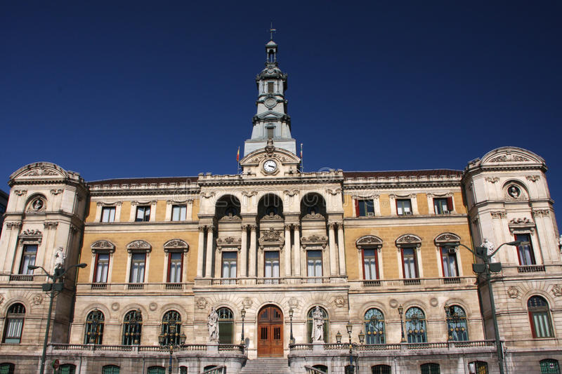 Download Bilbao town hall stock image. Image of touristic, ages - 21424423