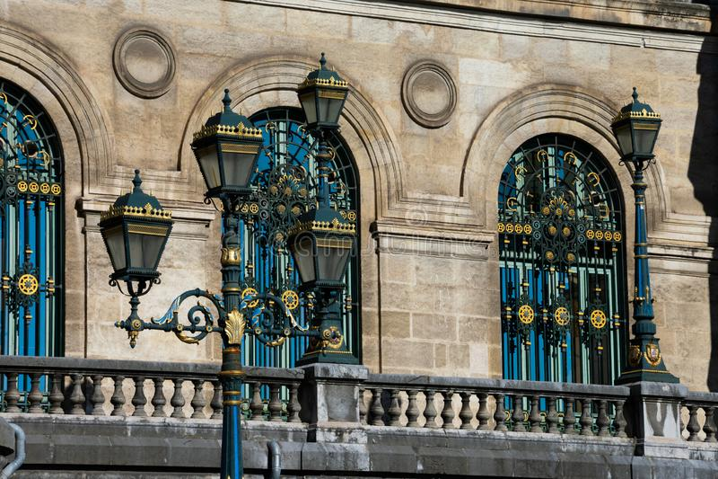 Bilbao urz?d miasta Casa konsystorski - Ayuntamiento obraz royalty free