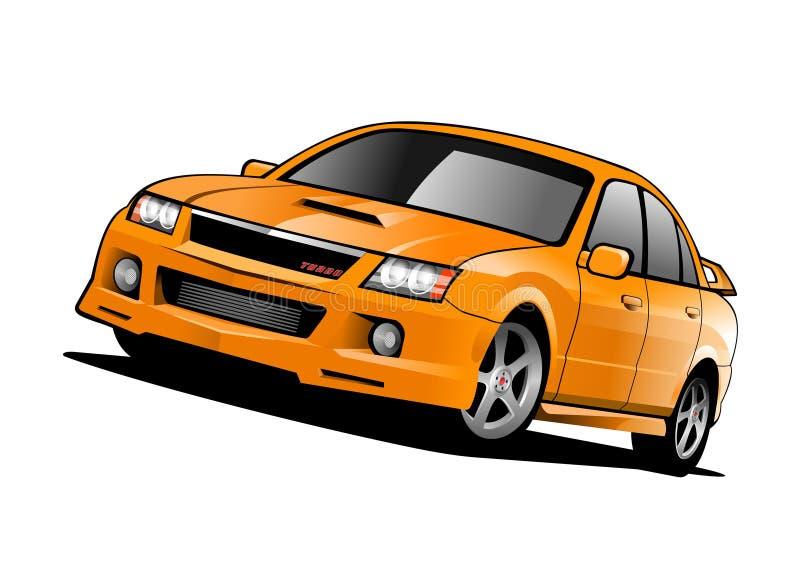 bilbegreppssportar stock illustrationer