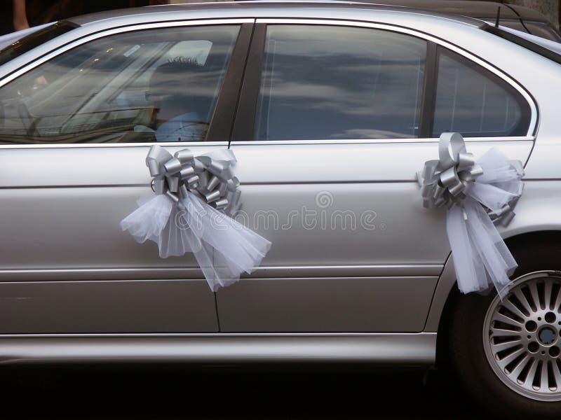 bilbröllop royaltyfria foton