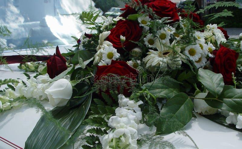 Download Bilbröllop fotografering för bildbyråer. Bild av blomma - 33927
