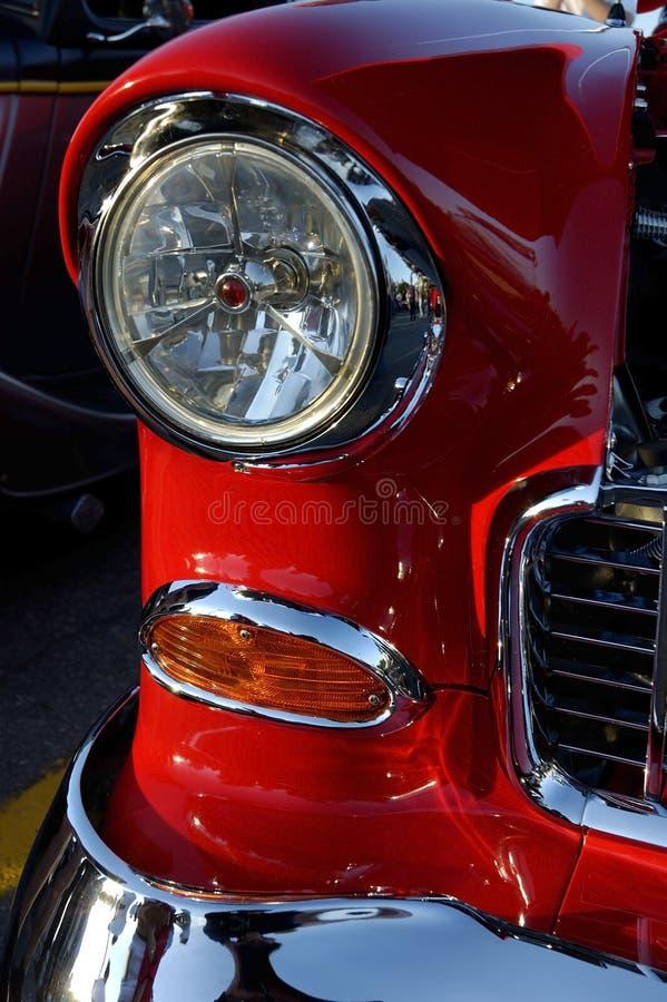 Download Bilclassic arkivfoto. Bild av återställt, detroit, rött - 283506