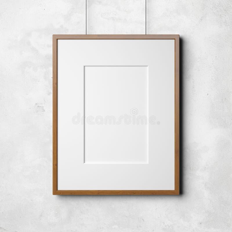 Bild auf der Betonmauer lizenzfreies stockfoto
