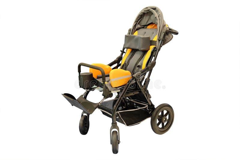Bild av barns rullstol royaltyfri bild
