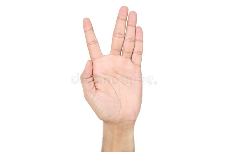 Bild av den mänskliga handen arkivfoto