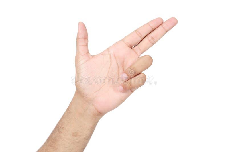 Bild av den mänskliga handen royaltyfria bilder