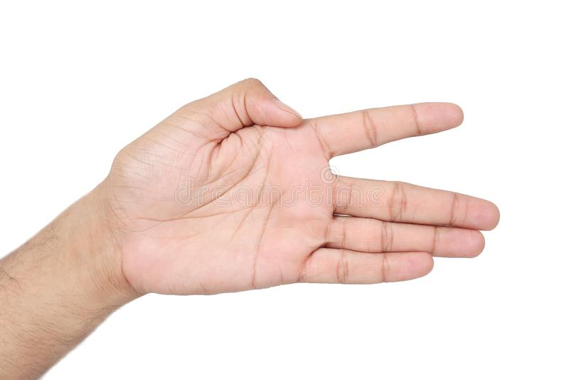 Bild av den mänskliga handen arkivfoton