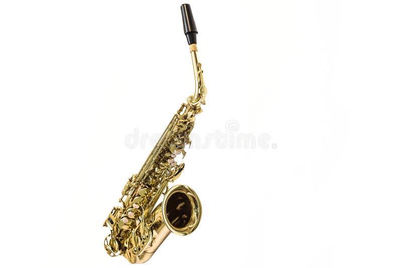 Bild av en saxofon royaltyfria bilder