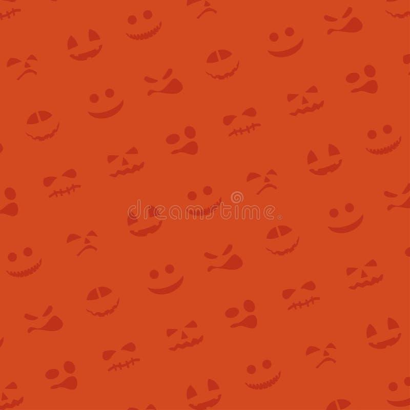 Bild av halloween vektor illustrationer