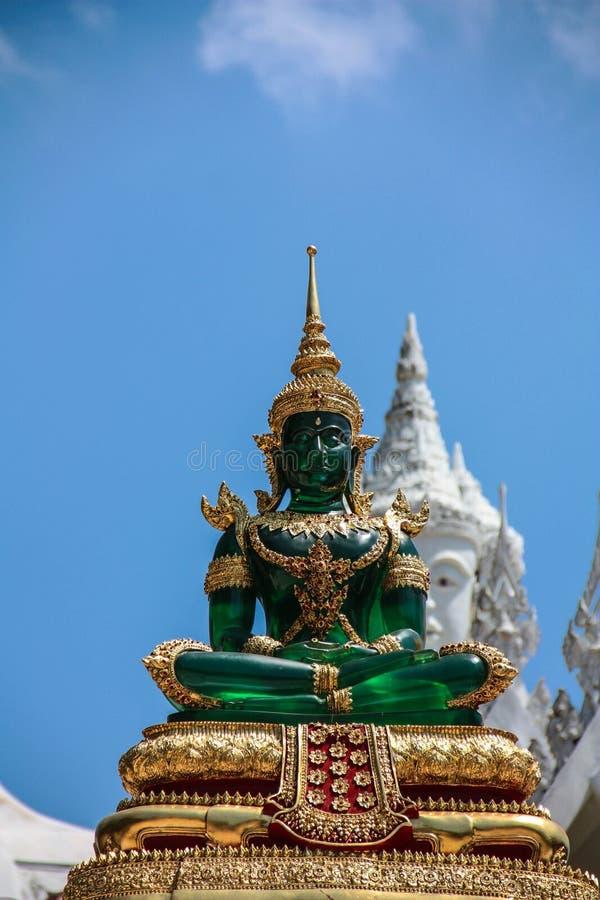 Bild av Jade Buddha royaltyfri foto