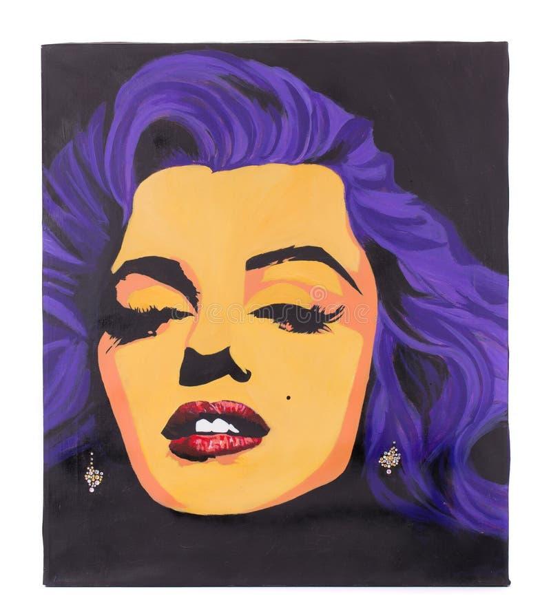 Bild av Marilyn Monroe arkivbilder