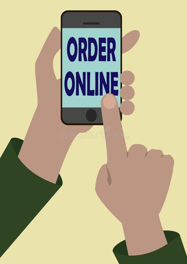 Download Bild Av Telefonen I Någon Händer Vektor Illustrationer - Illustration av symbol, affär: 76702794