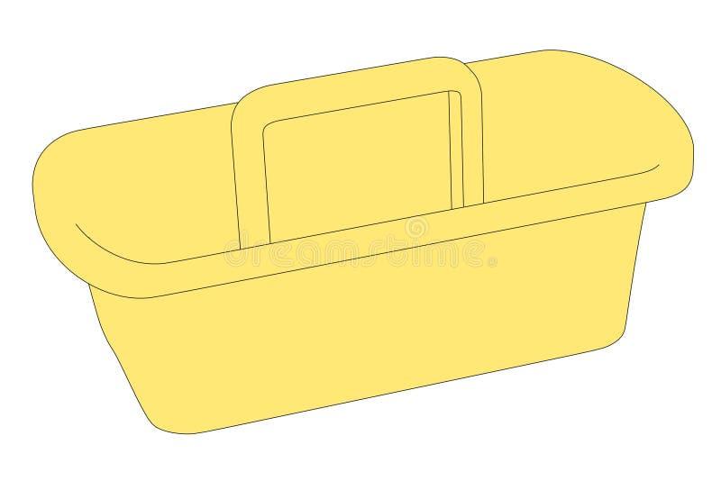 Bild av toolboxen royaltyfri illustrationer
