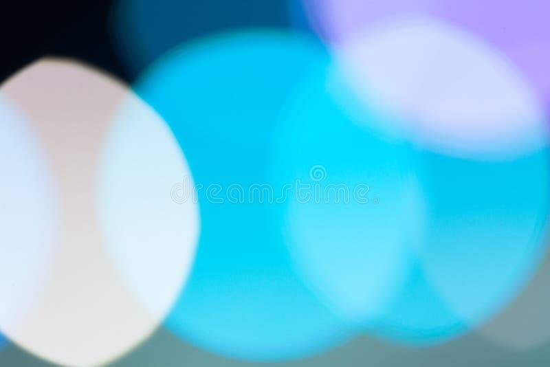 Bild der abstrakten Beschaffenheit, hellblauer bokeh Hintergrund mit Kopienraum lizenzfreies stockfoto