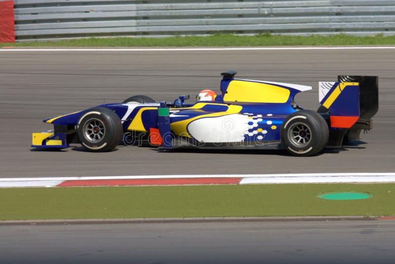 Bild der Formel-1: Motor- Foto des Rennenf1 auf Lager stockbilder