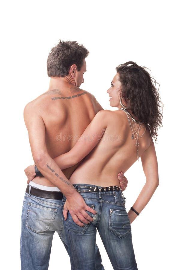 Bild der jungen Paare stockfoto