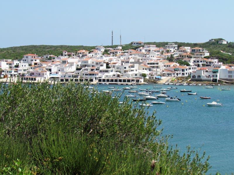 Bild der Küste der Insel Baeutiful Menorca in Spanien Ein natürliches Paradies stockfoto
