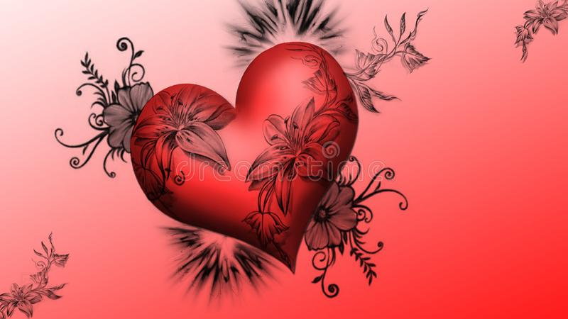 Bild der Liebe lizenzfreie stockfotos