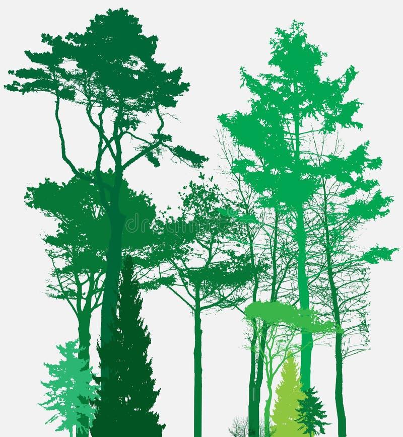 Bild der Natur Gebrauch, wie oder enthaltene Beschaffenheit in einer Auslegung Eco Fahne vektor abbildung