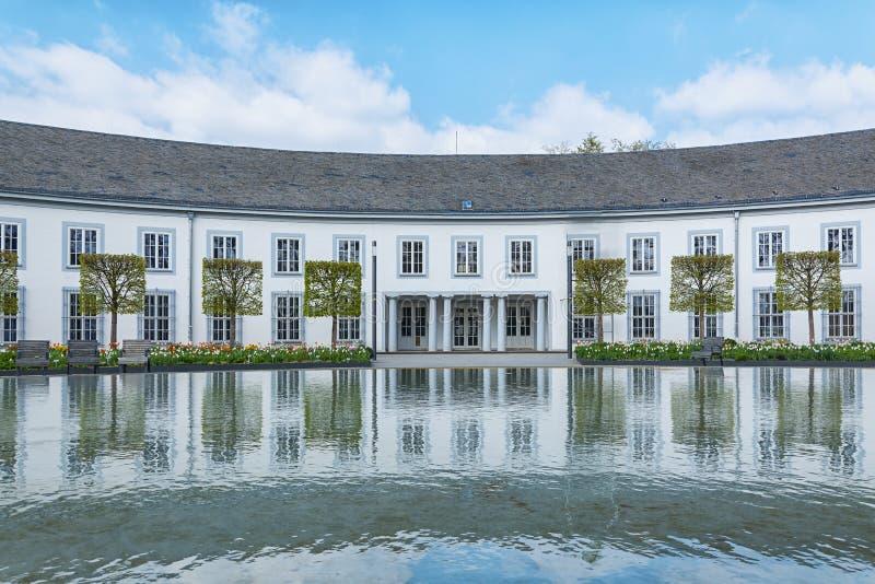 Bild der residenzschloss in Koblenz lizenzfreies stockfoto