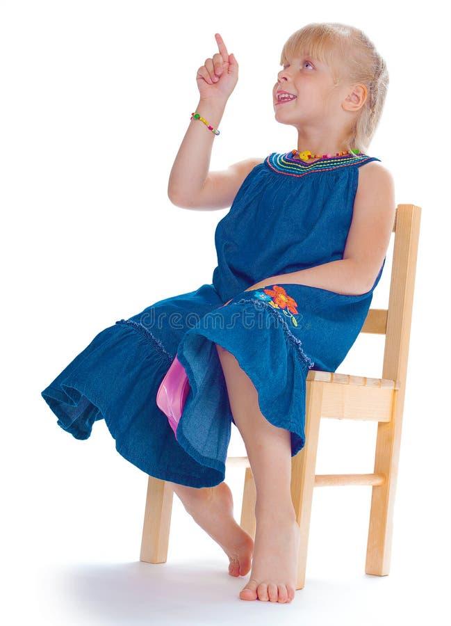 Bild des kleinen Mädchens lizenzfreies stockbild