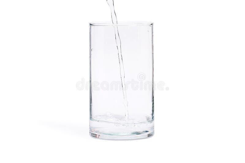 Bild des transparenten Glases lizenzfreies stockfoto