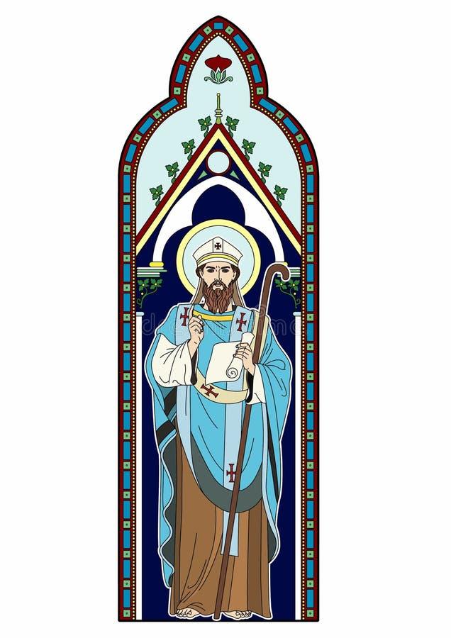 Download Bild eines Geistlichen vektor abbildung. Illustration von katholisch - 96931547