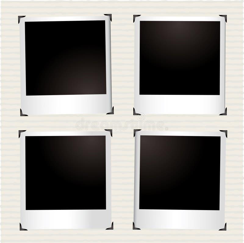 bild för fyra instant royaltyfri illustrationer