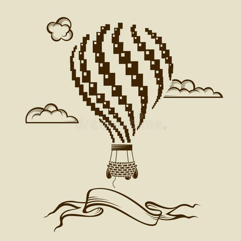 Bild för luftballong vektor illustrationer