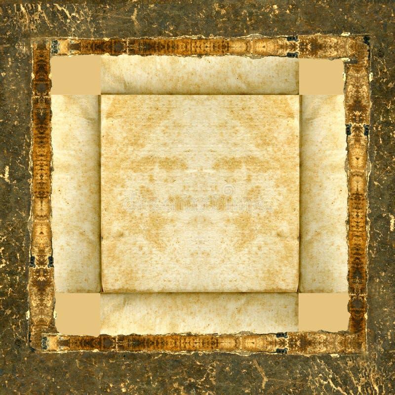 bild för ramgrungeläder arkivbilder