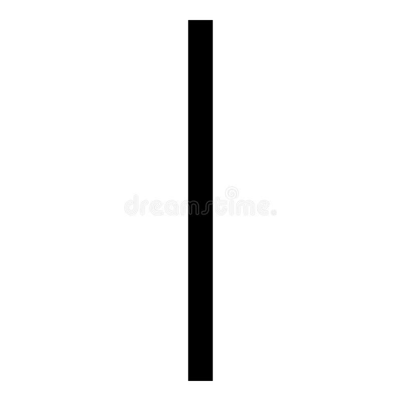 Bild för stil för illustration för vektor för färg för svart för symbol för symbol för frysning för Isa-runais plan vektor illustrationer