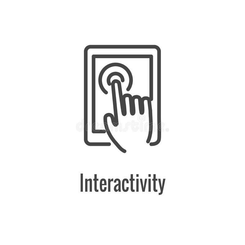 Bild för teknologi eller för mobil/för minnestavla för w Digital för vård- symbol Wearable royaltyfri illustrationer