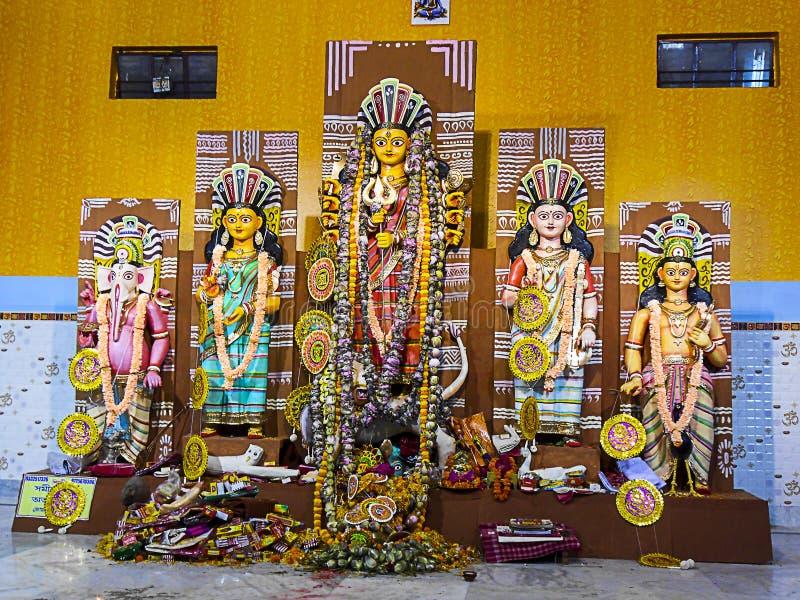 Bild 4 Maa Durga stockfotos
