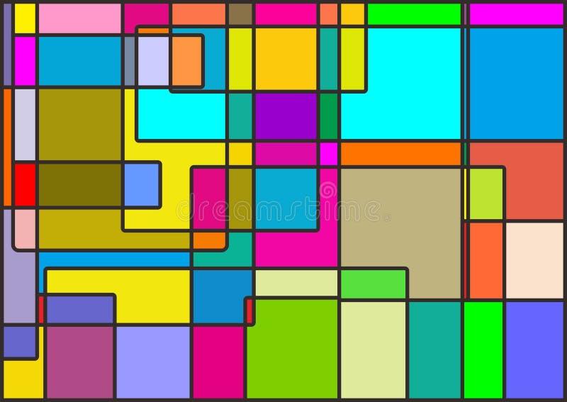 Bild mycket av färg arkivbild