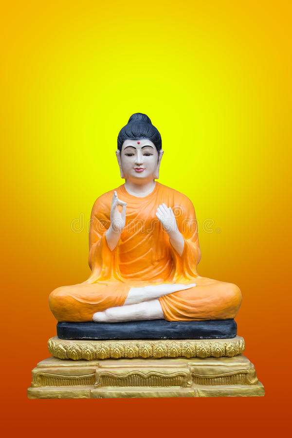 Bild von Buddha auf Hintergrund stockfotos