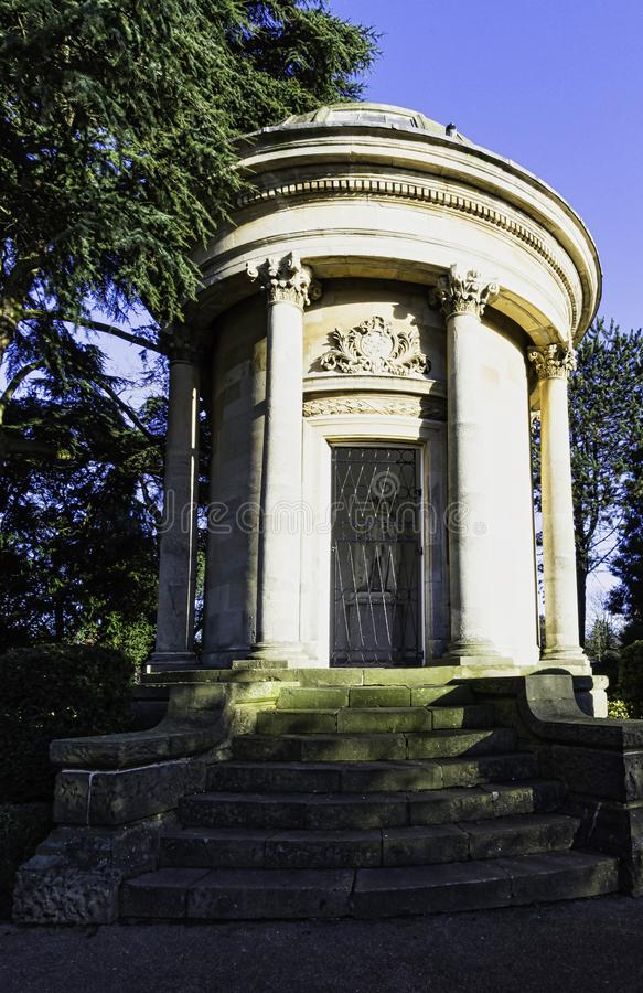 Bild von Jephson-Denkmal in k?niglichem Leamington-Badekurort, Warwickshire, Gro?britannien stockfotos