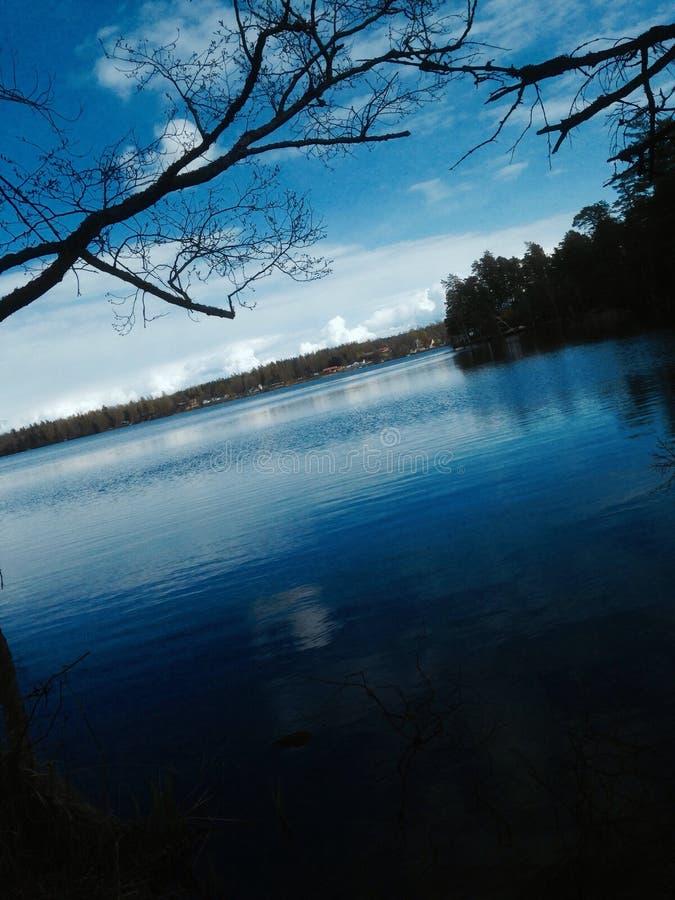 Bild von Kyrksjön stockfoto