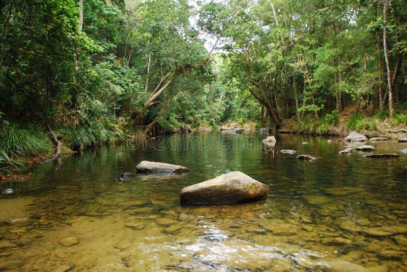 Bild von Mossman Fluss, Australien lizenzfreies stockbild