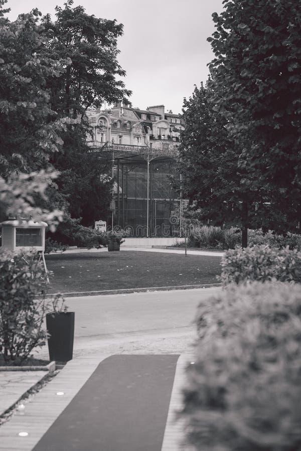 Bild von Paris und von Architektur lizenzfreies stockbild
