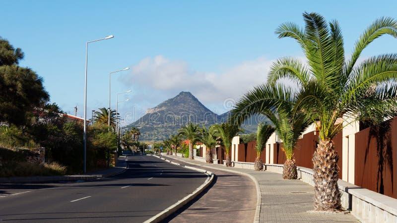 Bild von Vila Baleira, Porto Santo, Madeira-Inseln stockfotos