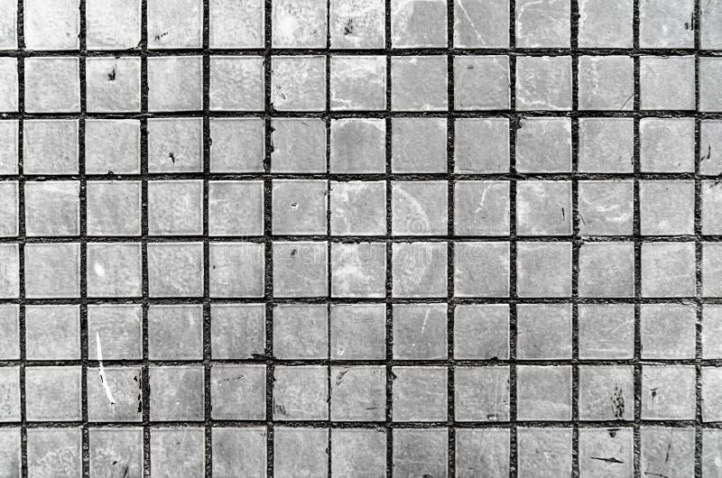 Bilden av väggen, bakgrund Bilden inkluderar en effekt de svartvita signalerna arkivfoto
