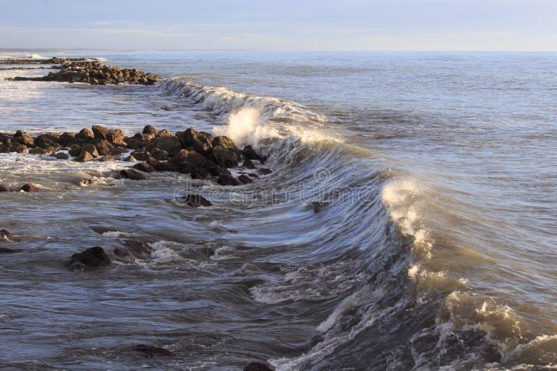 Bilden av vinterhavet royaltyfri fotografi
