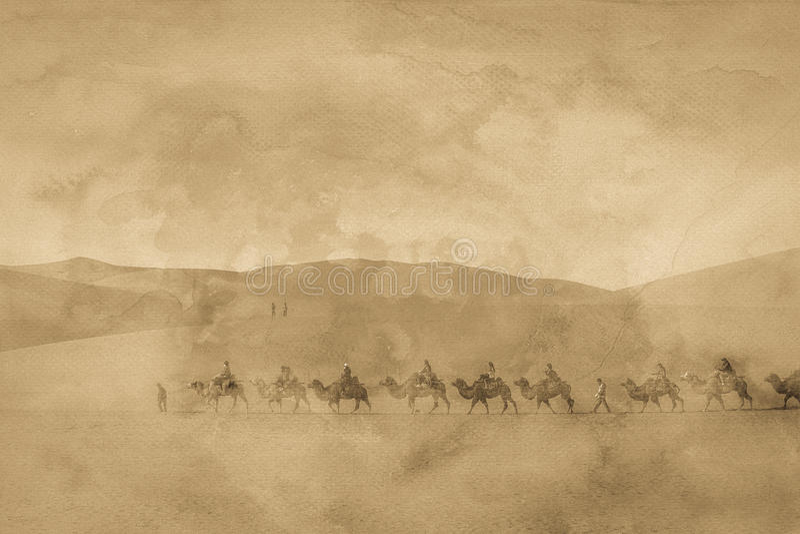 Bilden för siden- väg royaltyfria bilder