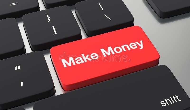 Bilden Sie Geldkonzept stock abbildung