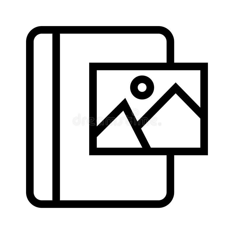 Bilderbuchlinie Ikone vektor abbildung