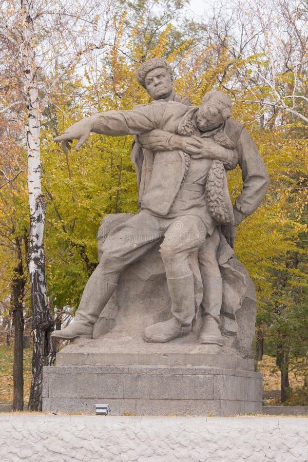 Bildhauerische Gruppe stockbild