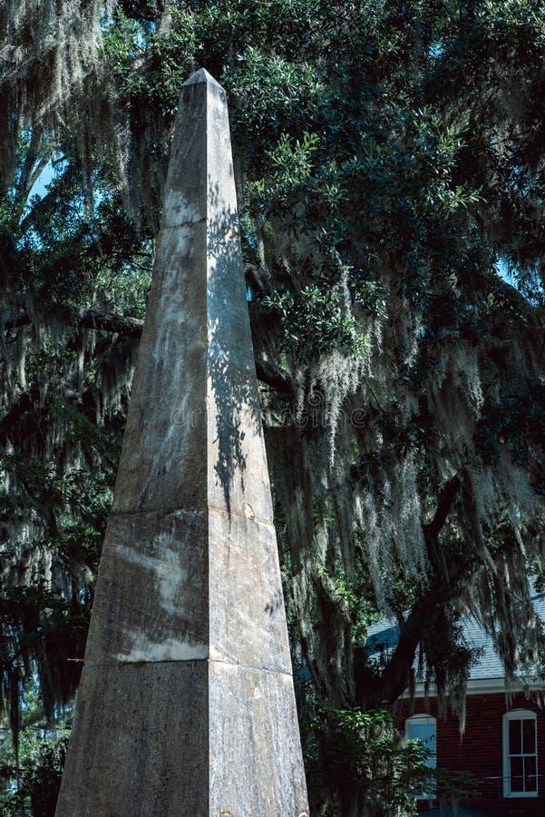 Bildhuggar- staty Bonaventure Cemetery Savannah Georgia för kyrkogård fotografering för bildbyråer