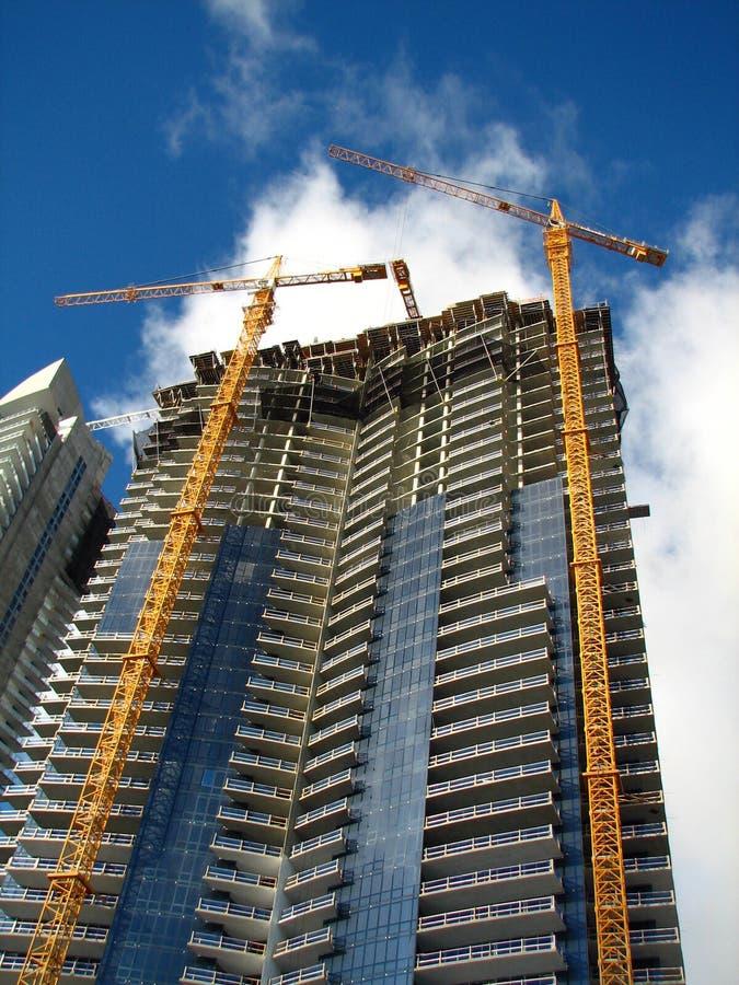 Bilding em Miami foto de stock
