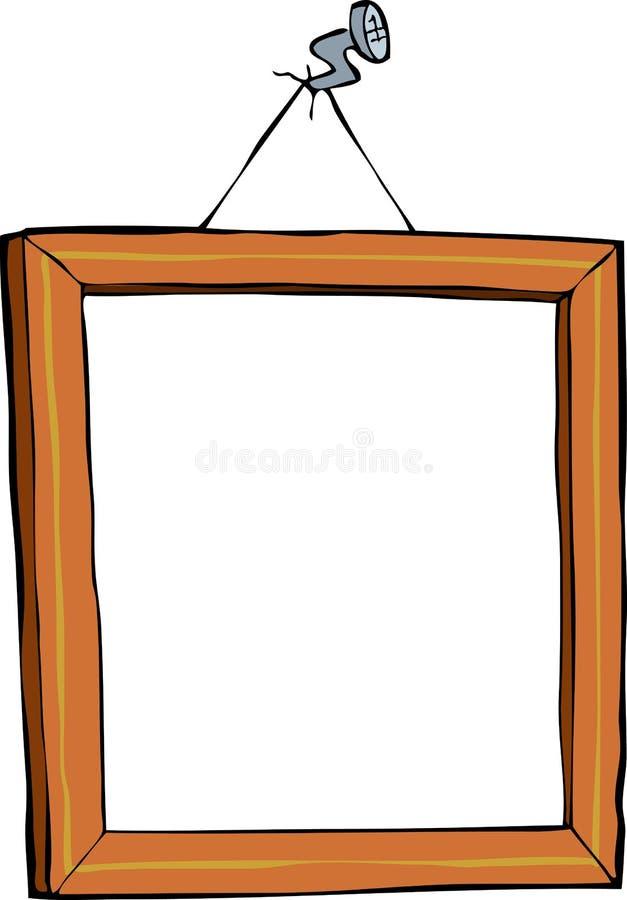 Bildram stock illustrationer
