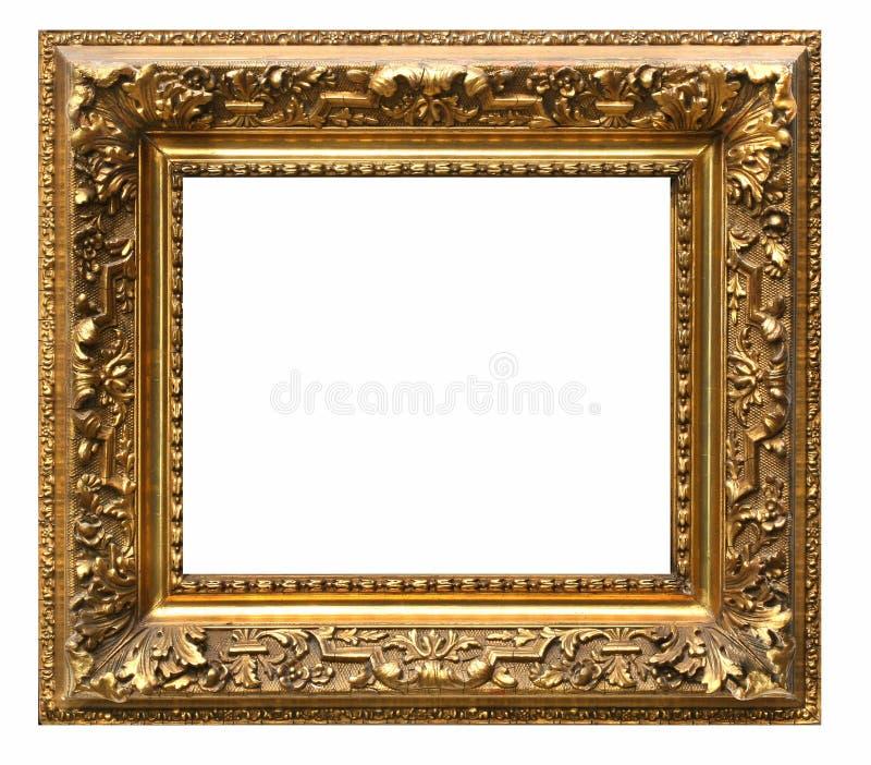 Bildram och vit bakgrund royaltyfria bilder